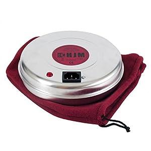 hjm 410 calentador portátil, 850 W, aluminio, blanco/naranja