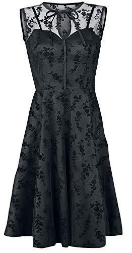 Voodoo Vixen Emerald Kleid schwarz S