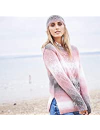 978eda3d2 Stylecraft Dream Catcher Double Knitting Pattern 9597 Sweater Scarf and Hat  - 81 86-