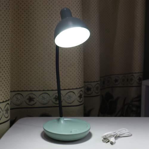 lagerung schlafzimmer nachttischlampe student schlafsaal schreibtisch led lesen augenschutz tischlampe 589 grüne runde lampe 11 * 14 * 41 cm ()