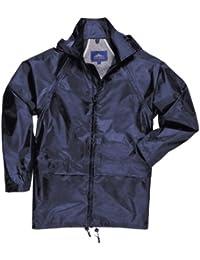 Childrens waterproof showerproof rain mac set trousers and jacket