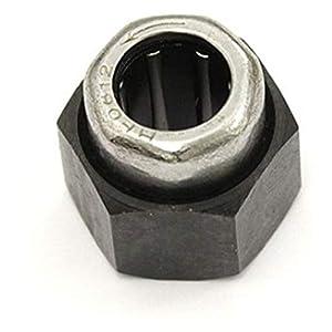 Kyosho- Rueda Libre, K.74033-10, Color Negro