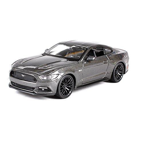 Penao 2015 Ford Mustang Simulation Legierung Automodell, Automodell, Auto Verzierungen, Verhältnis 01:24 (Modell-auto-kits Ford Mustang)