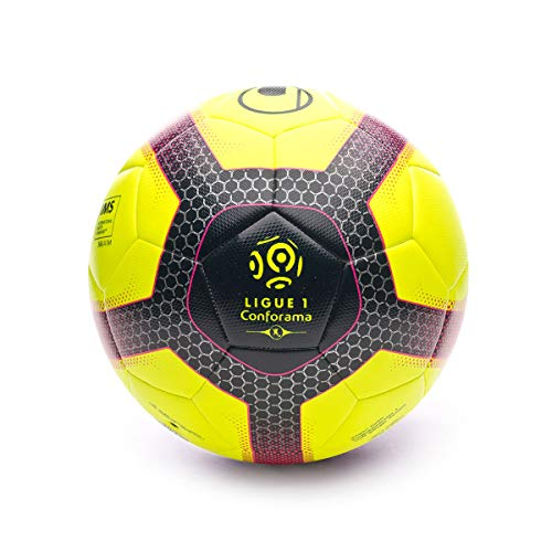 Uhlsport Elysia Pro Ligue 2019, Balón, Fluor Yellow-Navy-Fuchsia