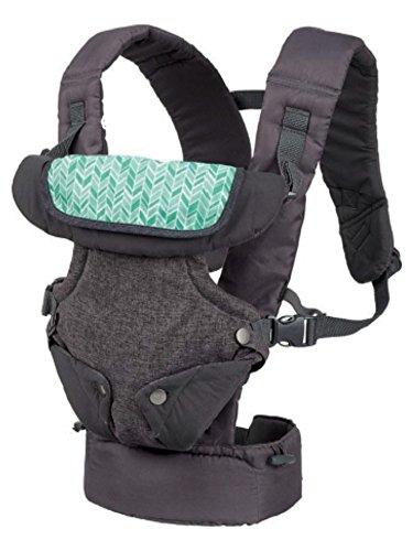 Preisvergleich Produktbild Infantino Flip Advanced 4 in 1 Babytrage, Baby Carrier, grau