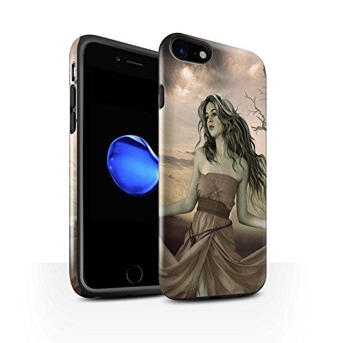 Officiel Elena Dudina Coque / Brillant Robuste Antichoc Etui pour Apple iPhone 7 / Pack 5pcs Design / Caractère Conte Fées Collection Notre Dame