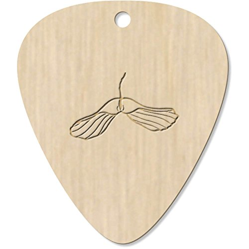 Azeeda 7 x \'Sycamore Baumsamen\' Plektrum / Picks (GP00008053)