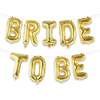 Party Propz Bride To Be Golden Foil Balloon For Bride To Be Balloon,Bachelorette Party Decoration,Bridal Shower Decorations