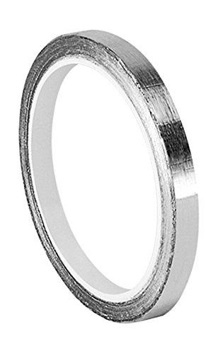 tapecase-0125-5-421-tape-converted-de-aluminio-plata-oscuro-plomo-cinta-adhesiva-de-goma-de-3-m-421-