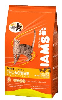 Iams Cat Adult With Succulent Roast Chicken