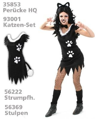 n Gr. 36 - 44 (Sexy Kätzchen Outfit)