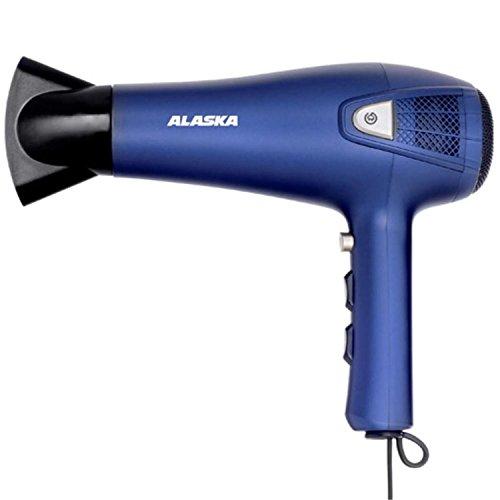 Preisvergleich Produktbild ALASKA Ionen Haartrockner HD 2100 R / Blau / 2.100 W / 3 Temperaturstufen / 2 Gebläsestufen / mit Ondulierdüse und Diffusor / Überhitzungsschutz