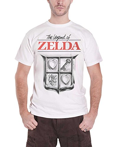 Nintendo Merch The Legend of Zelda T Shirt Game Cover Compressed Nue Offiziell Herren