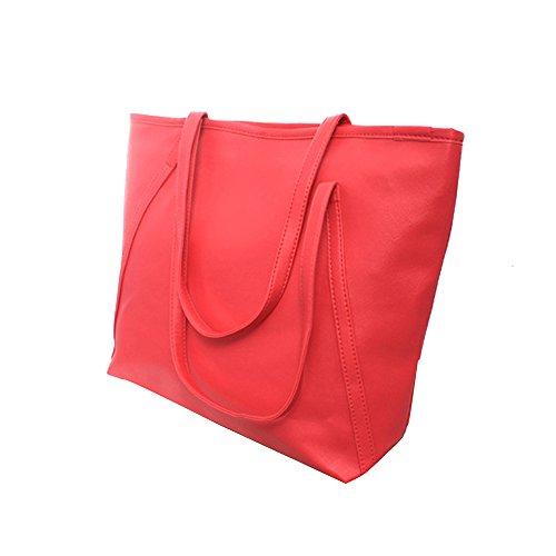 Myleas Donna Borsa a Tracolla Borsetta Shopper Borse Rosa
