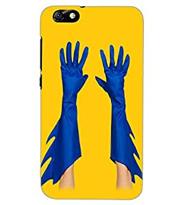 HUAWEI HONOR 4X HANDS Back Cover by PRINTSWAG