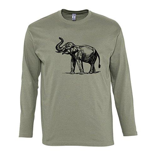 manica-lunga-t-shirt-da-uomo-con-elephant-illustartion-stampa-medium-natural