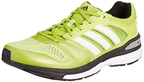 adidas Performance Supernova Sequence Boost, Herren Laufschuhe, Gelb (Semi Solar Yellow/Ftwr White/Core Black), 40 2/3 EU (7 Herren