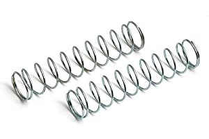 Rear Shock Springs, Silver, 2.10 LB