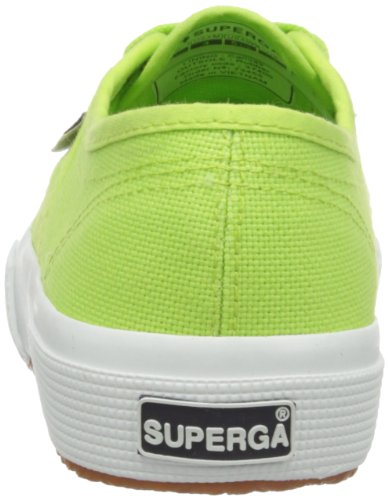 Superga 2750 Cotu Classic, Baskets mixte adulte Vert (Acid green)