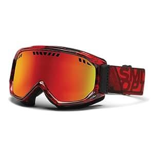 Smith Scope Snow Goggles - Black/Red Dark Sky/Red Sol-X Mirror Lens, Medium