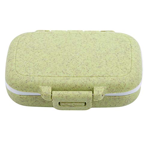 Ellepigy Reise 3 Grid Tägliche Pill Box Kleine Tragbare Tablet Box Dispenser Kaugummi Fall Veranstalter Multifunktionale -