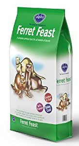 Alpha Ferret Feast Complete Dry Ferret Food Chicken and Fish, 10 kg