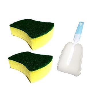 ATWF Starker Reinigungsschwamm zum Abwischen der Küche zum Reinigen von Schwamm Monolithic