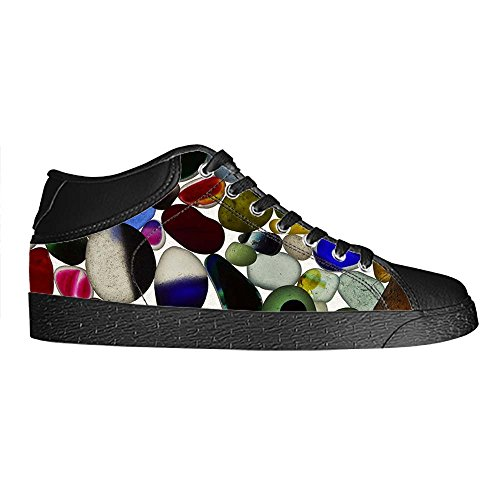 Dalliy Pebble Men's Canvas shoes Schuhe Lace-up High-top Sneakers Segeltuchschuhe Leinwand-Schuh-Turnschuhe C