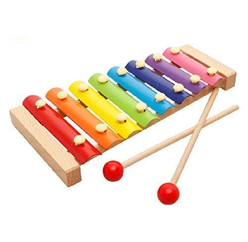Gearmax Bambino Kid Musical Giocattoli xilofono saggezza Sviluppo strumento di legno