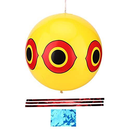 barer Ballon, abschreckendes Vogelabwehrmittel für Obstgärten ()