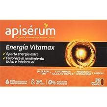 Apisérum Vitamax Cápsulas - Jalea Real, Vitaminas, Minerales, Aminoácidos, Ginseng - Multivitamínico