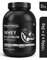 NAKPRO PLATINUM Whey Protein Isolate 90% (Raw Pure Unflavor