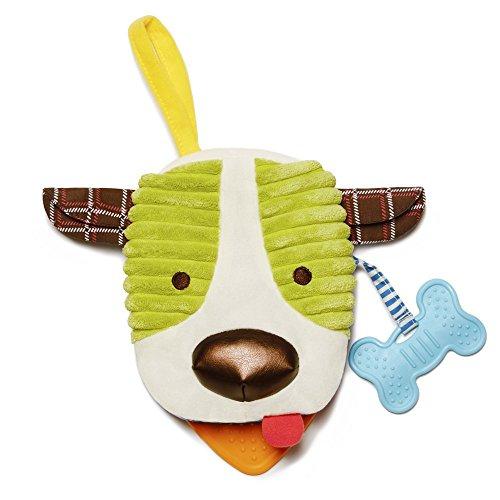 Skip Hop 306250 Bandana Buddies Book Puppy - 2 in 1 Stoffbuch und Handpuppe, Hund