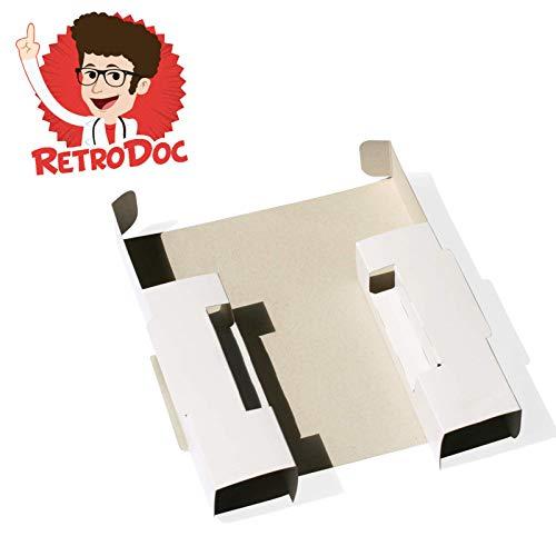 2 Ersatz-Karton Inlays für Super Nintendo Big Box OVP Spiele in Originalverpackung Passgenau Kartoneinleger