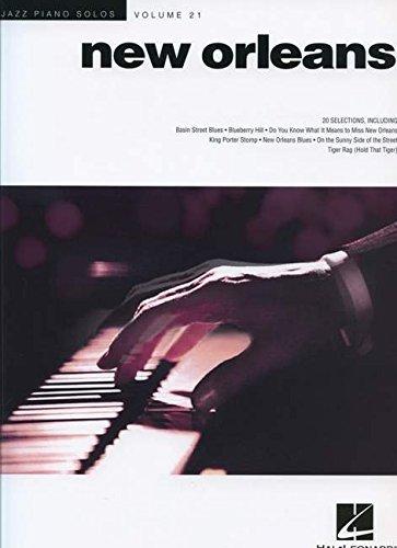 New orleans  piano: 21 (Hal Leonard)