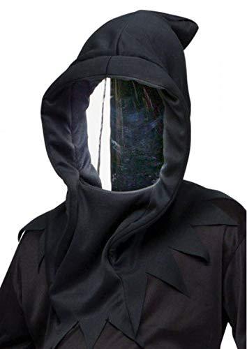Horror-Shop Spionspiegel Maske mit Kapuze - Halloween Maske & Faschings Maske One Size - Halloween-spiegel