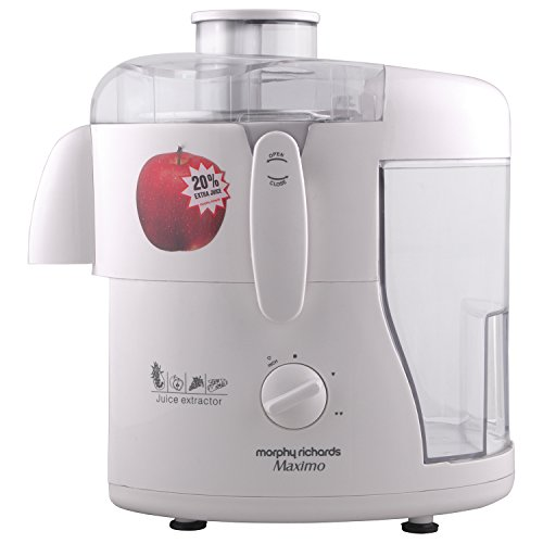 Morphy Richards Maximo 450-Watt Juice Extractor (Ivory)