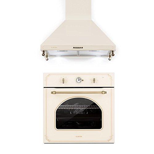 Klarstein Victoria Set • Horno eléctrico • Juego de horno y extractor...