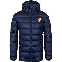 FC Barcelona - Plumífero acolchado oficial con capucha - Para hombre f2817ee5d90