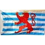Luxemburg Fahne ca. 90 x 150 cm von profimaterial