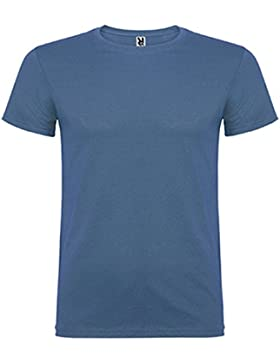Camiseta de manga corta, de cuello redondo -Roly