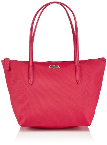Lacoste Damen MEDIUM SMALL SHOPPING BAG Shopper, Virtual PINK 185), 24x25x14 cm