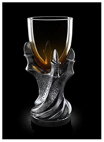 Ecentaur Weinkelche Mittelalter Bier Tassen Dragon Claw Glas Creative Geschenke Halloween Weinglas...