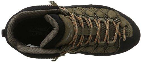 Alp Salewa Gore Femme peach Ws Tex de Multicolore Walnut Chaussures Randonnée Mid Coral Flow Hautes II5qr