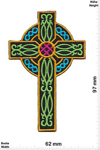 Patch - Kreuz - Kruzifix - Color - Spirit - Spirit - Kruzifix - Aufnäher - zum aufbügeln - Iron On