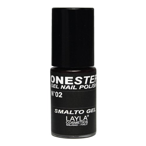 One Step Gel Nail Polish Tonalità 2 100% Black