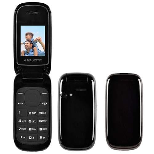 Majestic tlf lucky 59 flip - telefono gsm dual sim flip attivo, display 1.77