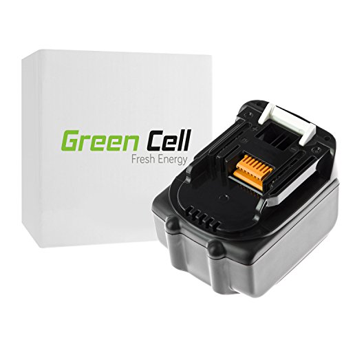 Green Cell® Replacement Battery Pack for Makita DMR108 (Li-Ion 4Ah 14.4V)