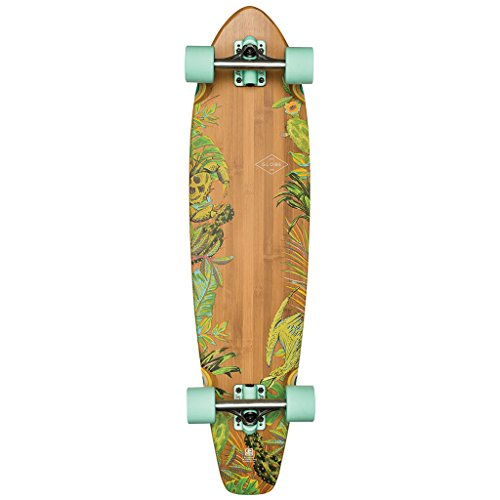 Globe The All-Time Bamboo Skateboard, Prickly Pear, 35 (Deck Longboard Bambus-holz)