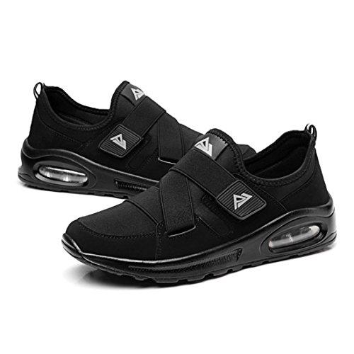 Men's Esportivo Feminino Mujer Hombre Athletic Running Shoes Black
